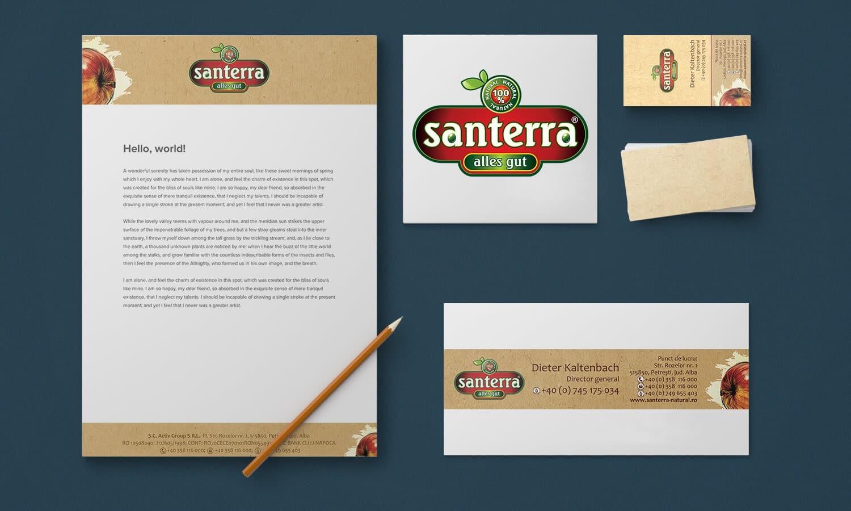 Branding Santerra