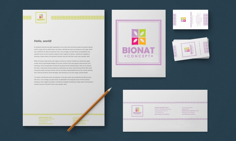 Branding Bionat Concept