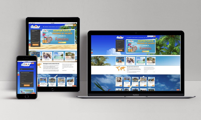 Website Olimpia Turism