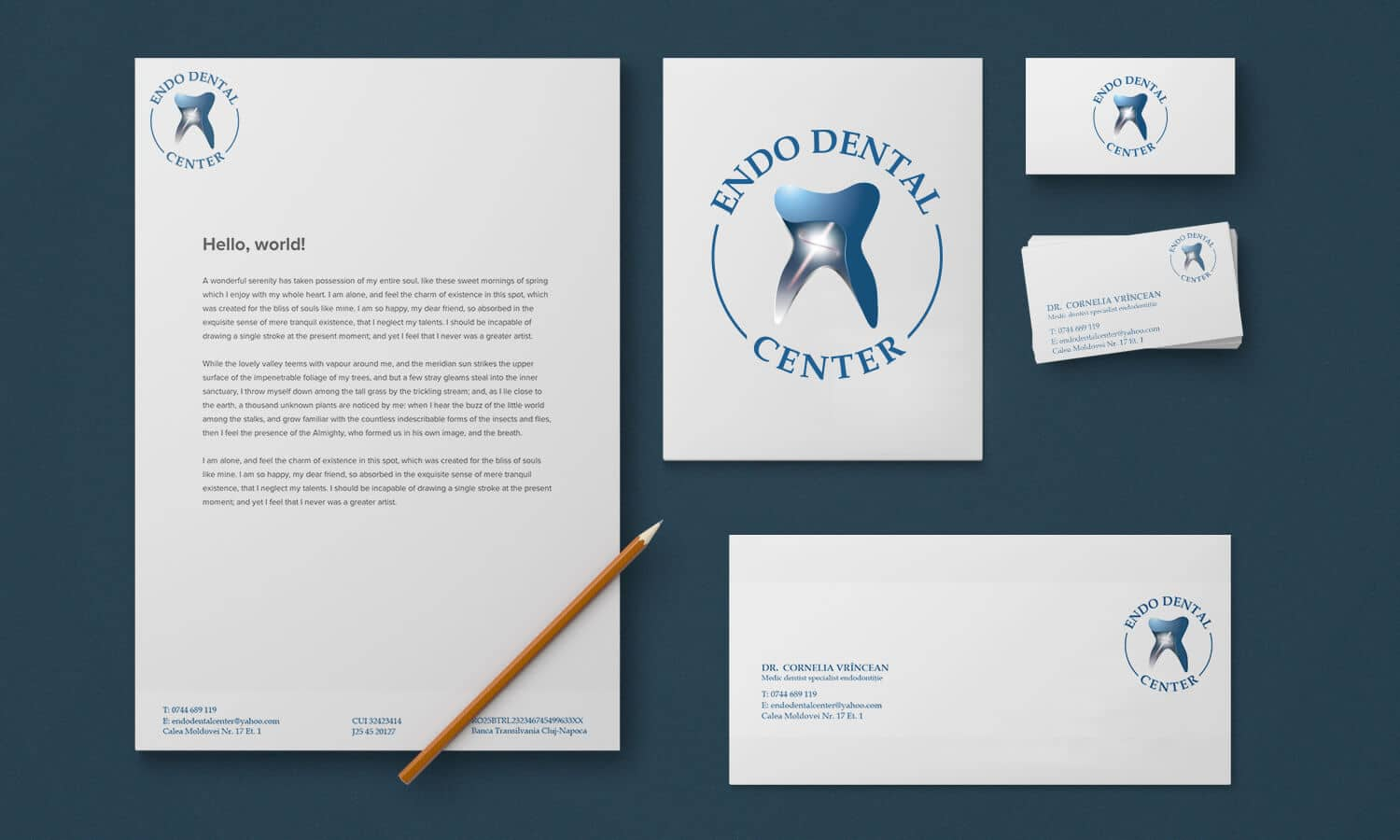 Branding Endo Dental Center