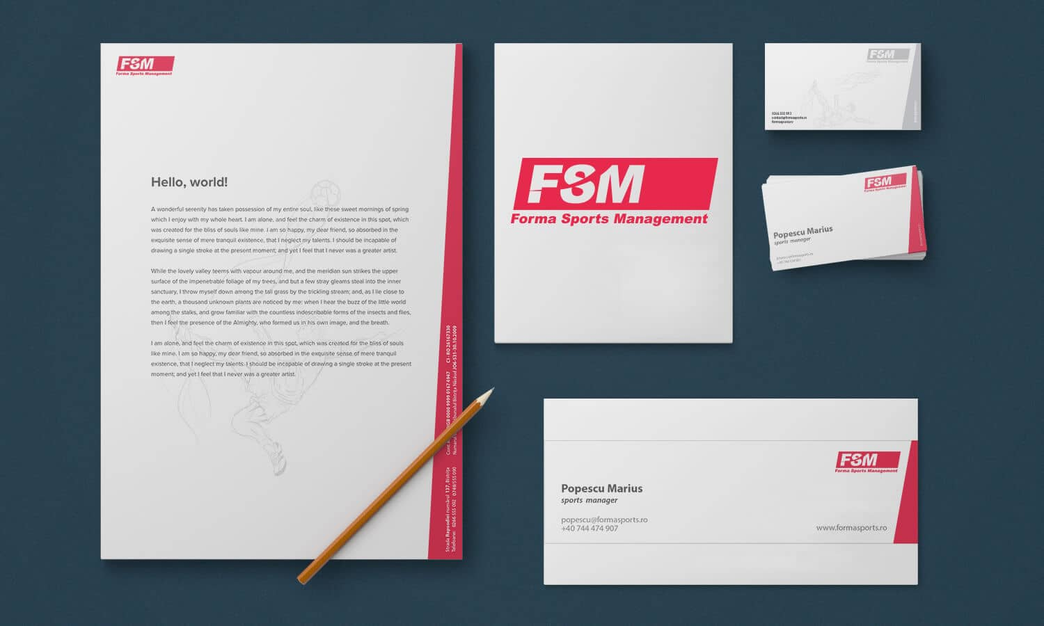 Branding Forma Sports Management