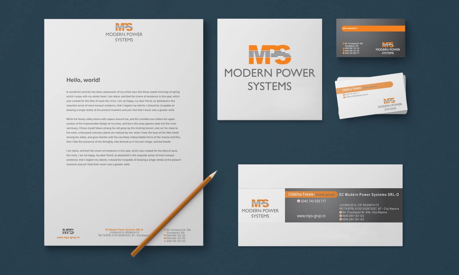 Branding Modern Power Systems