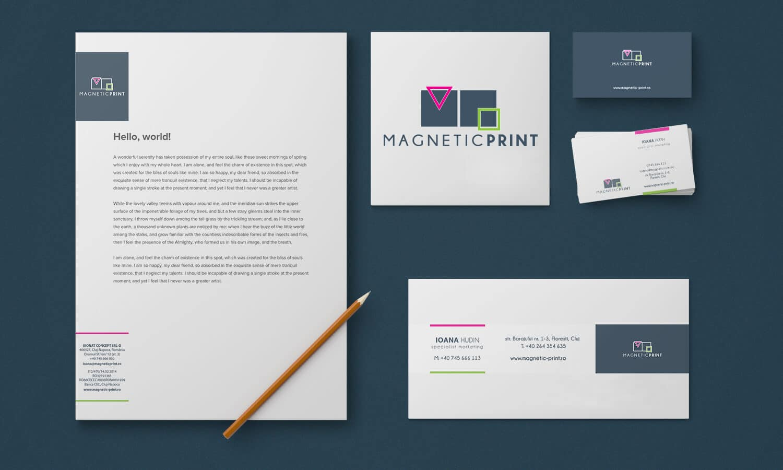 Branding Magnetic Print