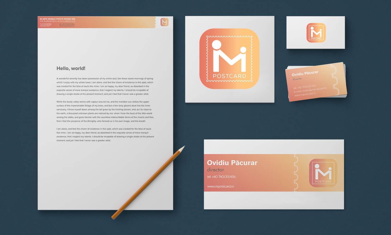 Branding Mpostcard