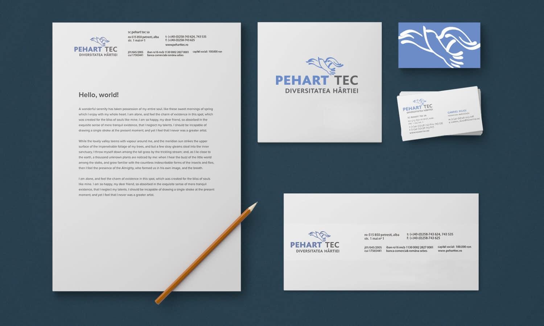 Branding Pehart Tec