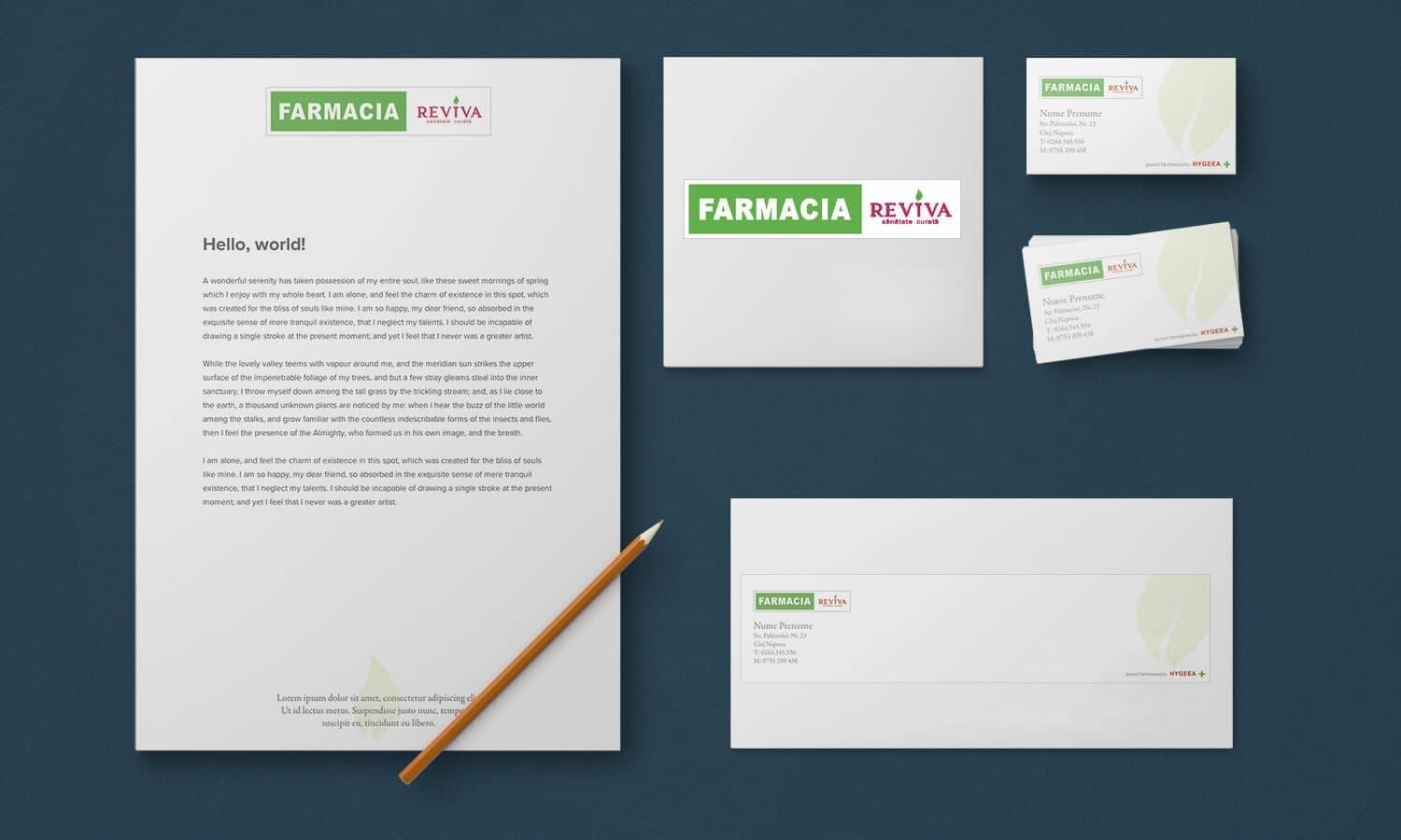 Branding Farmacia Reviva