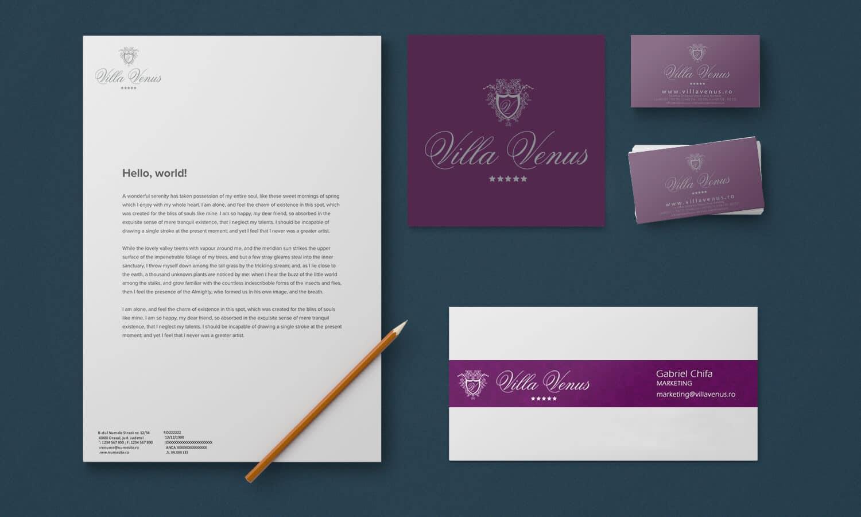 Branding Villa Venus